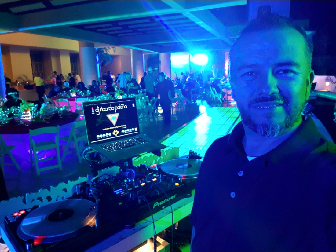 DJ Ricardo Patino Los Cabos Weddings Events are my Specialty