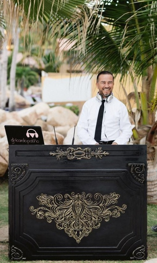 DJ Ricardo Patino services for Weddings and Events in Cabo San Lucas area
